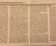 L'article de la semaine 19/12/2014