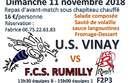 Repas d'avant match dimanche 11/11